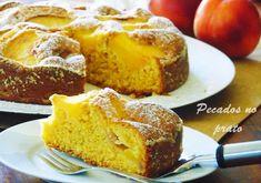 Receitas de pecados no prato: Bolo de pêssego aromatizado
