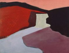 Milton Avery - Red Rock Falls - 1947. Milton Avery was an American modern painter. Born in Altmar, New York, he moved to Connecticut in 1898 and later to New York City.