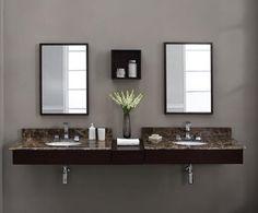 24 Modern Floating Bathroom Vanities and Sink Consoles