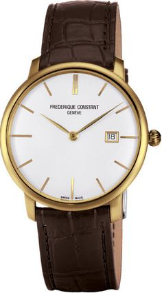 Frederique Constant Watch Slimline #bezel-fixed #bracelet-strap-leather #brand-frederique-constant #case-depth-8-3mm #case-material-yellow-gold-pvd #case-width-40mm #date-yes #delivery-timescale-call-us #dial-colour-silver #gender-mens #luxury #movement-automatic #official-stockist-for-frederique-constant-watches #packaging-frederique-constant-watch-packaging #style-dress #subcat-slim-line #supplier-model-no-fc-306v4s5 #warranty-frederique-constant-official-2-year-guarantee…