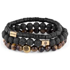 Buy Lucleon - Tiger's eye & Coconut Miro Bracelet for only Shop at Trendhim and get returns. We take pride in providing an excellent experience. Bracelets Design, Bracelets For Men, Beaded Bracelets, Leather Bracelets, Charm Bracelets, Friendship Bracelets, Leather Earrings, Tiger Eye Bracelet, Red Tigers Eye