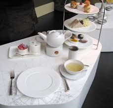 Image result for how to set a table for afternoon tea