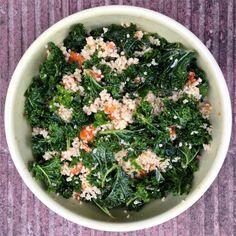 ensalada de mijo y kale Healthy Food, Healthy Recipes, Natural Cleaning Products, Seaweed Salad, Palak Paneer, Gluten, Favorite Recipes, Ethnic Recipes, Salads