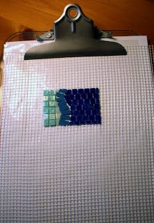Lin Schorr: Using Mesh for Mosaic