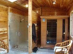 custom double heavy glass shower doors