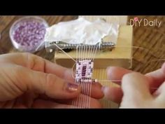 Simple Bead Weaving Loom & Bracelet: 4 Steps (with Pictures)