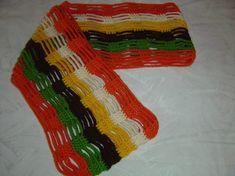 Cómo hacer una bufanda de ganchillo paso a paso [FOTOS]   Ella Hoy