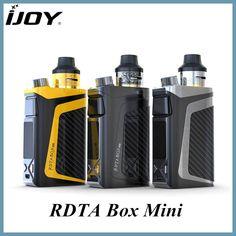 Originale iJoy RDTA Box Mini Kit 100 W Mod Built-In 2600mAh Battery & 6ml Capacity with RBM-C2 Coil rdta box mini vape kit