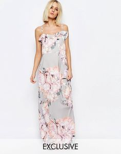 Pin for Later: 79 Robes Longues Super Confort Pour Cet Été  Every Cloud - Katie - Robe longue à imprimé floral botanique et volants - Multi (113€)