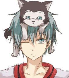 Kuroko no Basket. OMG so adorable Kuroko and Kuroko #2. They are the same!!!!!!!