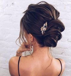 The Most Romantic Bridal Updos Wedding Hairstyles The Most Romantic Bridal Updos Wedding Hairstyles,Bridal Hair & Makeup wedding updos for medium length hair,wedding updos,updo hairstyles,prom hairstyles Related posts:Miss to Mrs Foil Bridal. Romantic Bridal Updos, Bridal Hair Updo, Wedding Hair And Makeup, Wedding Updo, Romantic Weddings, Brown Wedding Hair, Wedding Ceremony, Prom Hair Updo Elegant, Elegant Bun