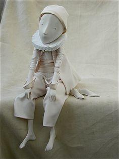 Sculpture, Terre dans Gens, Personnage, Poupée, figurine, Porcelain,textile - Image #160849