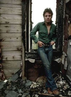 """Bruce Springsteen - On one magic day back in '49 - """"Let there be Bruce""""    .    .    .    .    .    (thesamiposts)"""