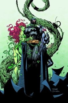Batman, Poison Ivy & Catwoman by Jim Lee