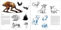 Character and Creature Design Notes: The use of Silhouettes in Concept Design