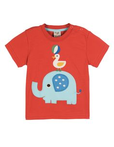 Frugi Baby T-shirt http://www.raspberryred.co.uk/clothes-by-brand/frugi/frugi-little-ollie-ellie-t-shirt