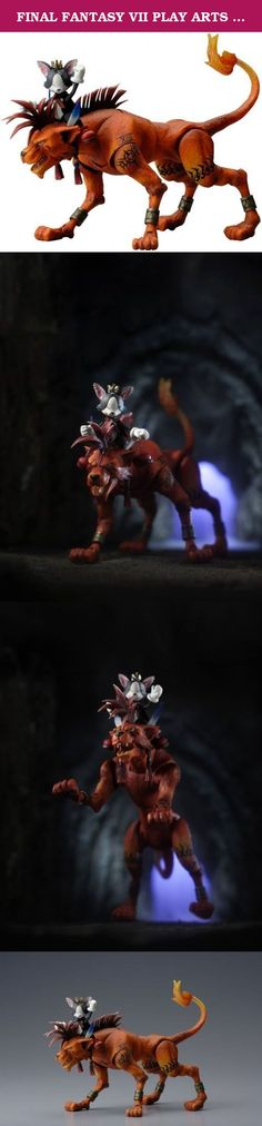 FINAL FANTASY VII PLAY ARTS vol.2 Red XIII & cat s?th (PVC painted action figure). It's shipped off from Japan.