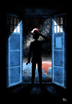 It's Bigger on the Outside by Anna-Maria Jung. Doctor Who art.
