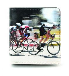 Cyclists Quality Soft Leather Wallet By Golunski - Retro Tri-Fold
