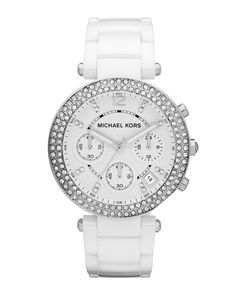 http://harrislove.com/michael-kors-white-acetate-parker-three-hand-glitz-watch-p-7164.html