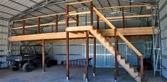 Image result for how to build a loft in a garage