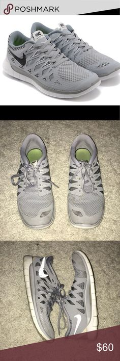 Nike Free 5.0 gray sneakers Nike free 5.0— gray // size: 6.5Y Nike Shoes Sneakers
