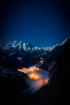 Sea of Light, Valley di Susa, Italy