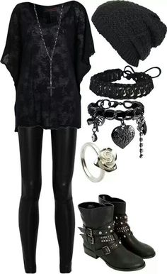 Gothic fashion 792844709378929261 - Cute goth style outfit ideas Source by vivienravailler Mode Rock, Goth Dress, Lolita Dress, Looks Black, Outfit Trends, Gothic Outfits, Cute Goth Outfits, Scene Outfits, Punk Outfits