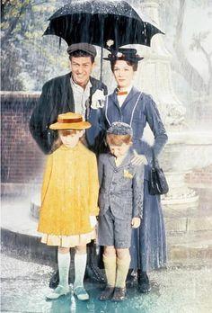 *BERT, MARY, JANE & MICHAEL ~ Mary Poppins, 1964....I Dream of Disney