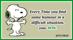 Every Time you find some humour in a difficult situation, you WIN  #Mindset #BIZBoost
