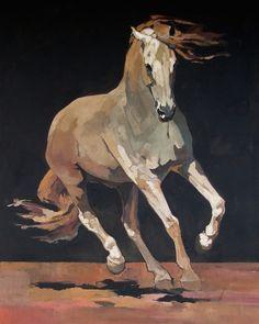"""She Ran Calling, Wildfire"" - Originals - All Artwork - Peggy Judy Horse Drawings, Realistic Drawings, Art Drawings, Horse Dance, Art Watercolor, Horse Artwork, Art Sculpture, Sculpture Garden, Art Diy"