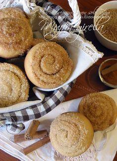 Muffin girella alla cannella | lievitati dolci