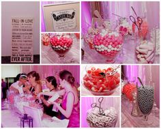 Pink and gray candy bar. Found on Modern Jewish Wedding Blog. Wedding Reception Appetizers, Mini Burgers, Bridesmaid Dresses, Wedding Dresses, Happily Ever After, Pink Grey, Falling In Love, Wedding Blog, Candy