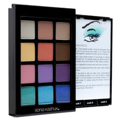 Sonia Kashuk's Instructional Eye Palette gives you colored illustrations for easy application!