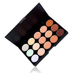 Professional 15 Colors Contour Face Cream Concealer Camouflage Makeup Palette -- Read more reviews of the product by visiting the link on the image.