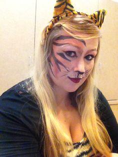 Tiger makeup | For fun | Pinterest | Tiger makeup and Makeup