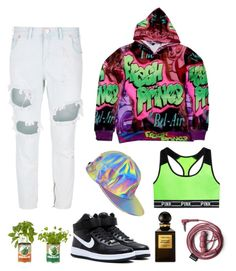 """""""Fresh Prince of Bel-Air"""" by mingnawen ❤ liked on Polyvore featuring Victoria's Secret, NIKE, One Teaspoon, inspiration and TV"""