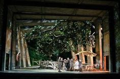 Werther. The Metropolitan Opera. Scenic design by Rob Howell. Lighting by Peter…