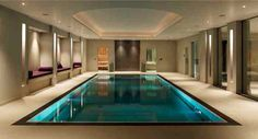 A dream swimming pool inside. Total luxury