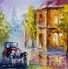 My website afremov.com ___________________________ Use 15% discount coupon - GeraSU15 ___________________________ #art #painting #afremov #wallart #walldecor #fineart #beautiful #homedecor #design: