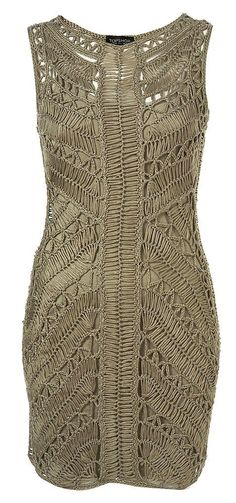 Hairpin Crochet Dress by Top shop