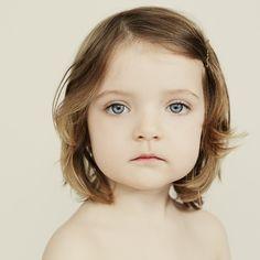 portrait girl toddler