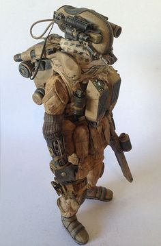 """""""PMMC 27 - Private Military Mech Contractor 27"""" in 1/6 by KidAkira"""
