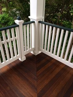 Superdeck Exotic Hardwood Stain 50 50 Mix Of Walnut And