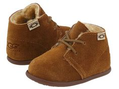 ugg baby toddler lace up boots chestnut