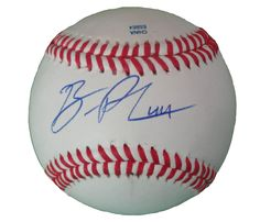 Colorado Rockies Ben Paulsen signed Rawlings ROLB leather baseball w/ proof photo.  Proof photo of Ben signing will be included with your purchase along with a COA issued from Southwestconnection-Memorabilia, guaranteeing the item to pass authentication services from PSA/DNA or JSA. Free USPS shipping. www.AutographedwithProof.com is your one stop for autographed collectibles from Denver sports teams. Check back with us often, as we are always obtaining new items.