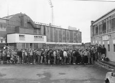 Newcastle fans waiting in line for a ticket to welcome the messiah, Kevin Keegan to St James' Park in 1982 Embedded image permalink Newcastle Football, Newcastle United Fc, St James' Park, Home And Away, Old Images, Crowd, Street View, Vintage Photos