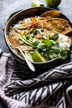 Aka cozy, healthy, happy food... aka my favorite kind of food!! The post Salsa Verde Chicken and Rice Tortilla Soup. appeared first on Half Baked Harvest.