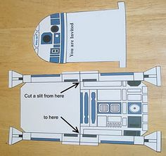 R2D2 Party Invitation