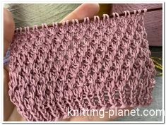 Knitting Books, Knitting Stitches, Embroidery Stitches, Knitting Patterns, Stitch Patterns, Cooking Cream, Blanket, Crochet, Crafts